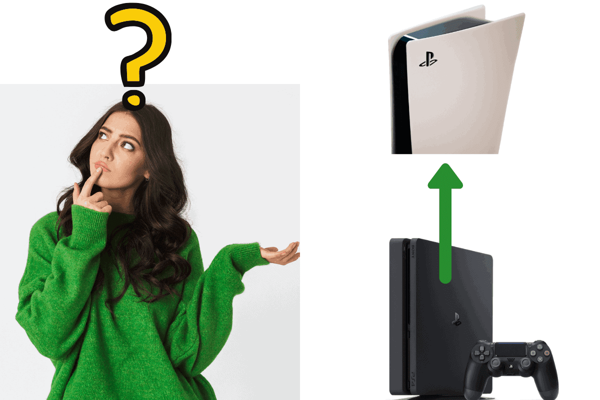 how does ps5 free upgrade work